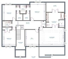 Jack And Jill Layouts On Pinterest Floor Plans House Floor Plans And Bathroom