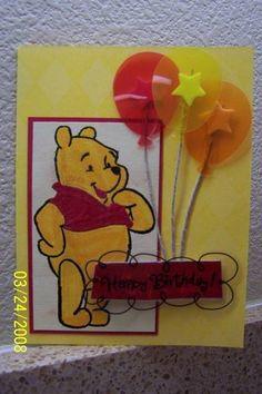 Winnie the Pooh Birthday Balloons