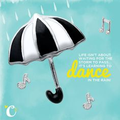 Origami Owl loves to dance in the rain!!
