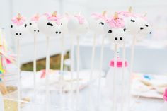 Unicorn Cake Pops #S