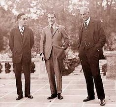 The Prince of Wales with Henry Ford