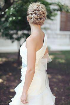 sophisticated wedding hair idea #updo #weddinghair http://www.weddingchicks.com/2013/11/14/sveti-stefan-island/