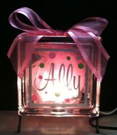 Glass Block Craft Ideas | Craft Ideas