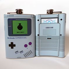 Game Boy Flask - Take My Paycheck - Shut up and take my money! | The coolest gadgets, electronics, geeky stuff, and more!