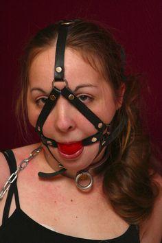 Harness Ball Gag - Helpless housewife 3 by ~Infomediastudios on deviantART