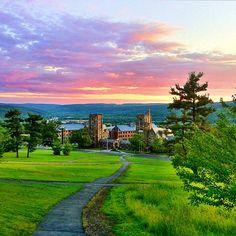 Libe Slope. Ithaca, NY.