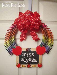 Personal Teacher's Wreath gets an A+.