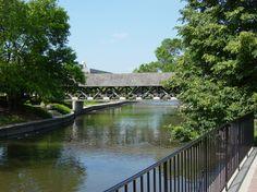 riverwalk. naperville, illinois.