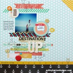 Ashley Horton Designs: a band of washi tape