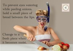 Household Hints: When onions make you cry - The Circular Home