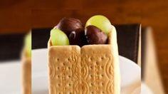 Faça torta de uvas com mousse de chocolate branco
