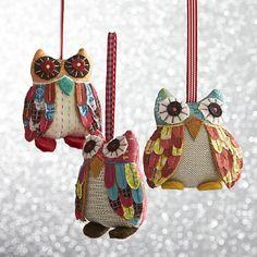 Owl Ornaments -- Ornaments Review