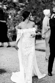 Camille Styles Executive Producer Chanel Dror's Wedding at a Château in the Loire Valley | Pin discovered by Kelly's Closet bridal boutique in Atlanta, Georgia