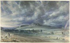 Old Sarum, John Constable, 1834