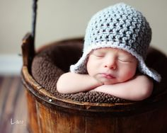 Baby Hat, Newborn Hat, your own colors $11