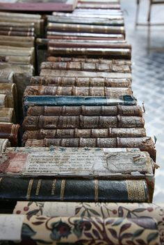 Antique books - love!