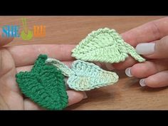 How To Crochet Leaf Tutorial