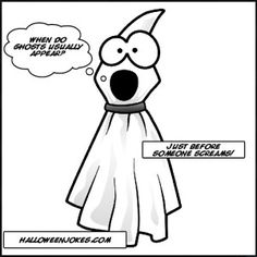 Halloween Ghost Joke For Kids!