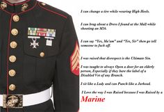 Dating daughter marine's for a rules