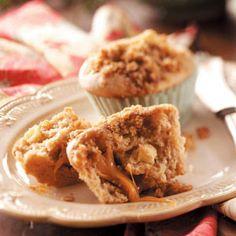 muffins, bake, bread, food, caramels, muffin recip, appl muffin, dessert, caramel apples