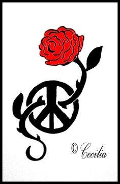 Peace and Rose