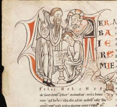 Medieval Manuscript Appears to Show a Man Playing Air Guitar