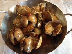pipis with X.O. Chilli sauce