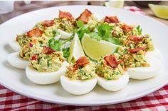 Bacon Guacamole Deviled Eggs [RECIPE]