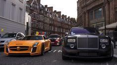 FAB Design SLS, X6 and Rolls Royce Phantom