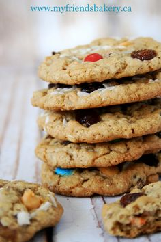 Everything But The Kitchen Sink Oatmeal Cookies | My Friend's Bakery