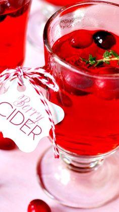 Warm Berry Cider Recipe