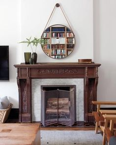 Style the Perfect Hearth: Stately Mantel