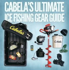 Gear up for your next adventure out on the ice.