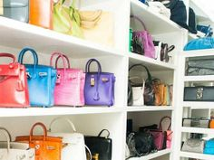 Tips for cutting the clutter in your closet.
