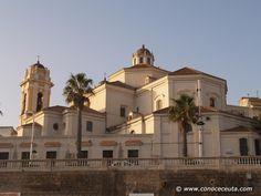 Conoceceutafotos: Sta. Iglesia Catedral de Ceuta.