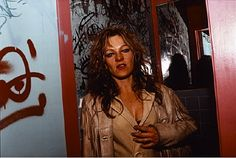 Cookie Mueller (photographed by Nan Goldin)