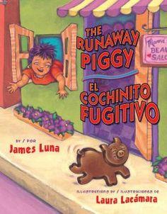 The runaway piggy. Picture book.
