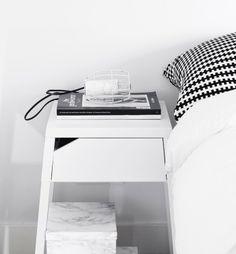 interior, pillow, guest bedrooms, diy crafts, box, bedside tables, ikea, black, marbl