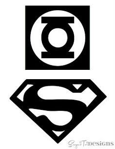 Superhero Bins {Tutorial and Printable}