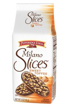 Save $0.55 on Milano Slices Cookies!