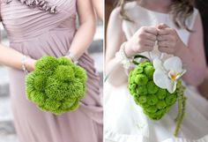 green bouquet, bm bouquet, thesebridesmaid bouquet, appl green