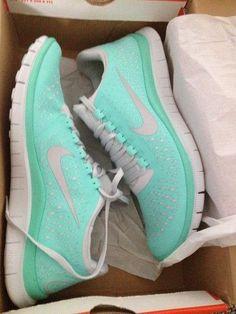 Tiffany blue Nikes...yes please!
