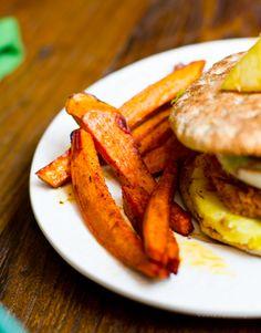 Vegan Pineapple Jerk Veggie Burgers + Sassy Sides