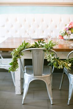 French brunch-inspired bridal shower: http://www.stylemepretty.com/2014/08/08/french-brunch-inspired-bridal-shower/ | Photography: http://www.kimberlychau.com/