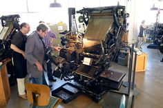 Linotype in Darmstadt, Germany