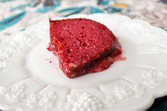 strawberry bundt cake!