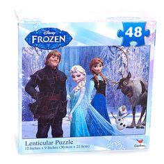 Disney Frozen 48pc. Lenticular Puzzle