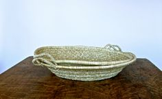 "24"" Basket Bowl from Olmay Home."