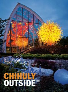 Chihuly outside! He is so prolific!