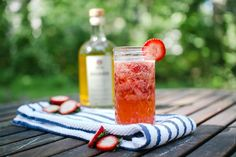 Rhuby Rose summer cocktail